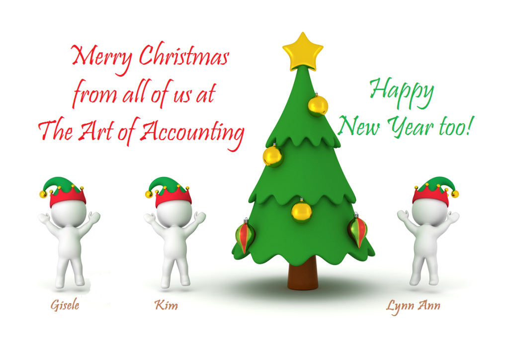Holiday Greetings from The Art of Accounting