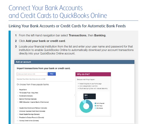 connect your bank accounts
